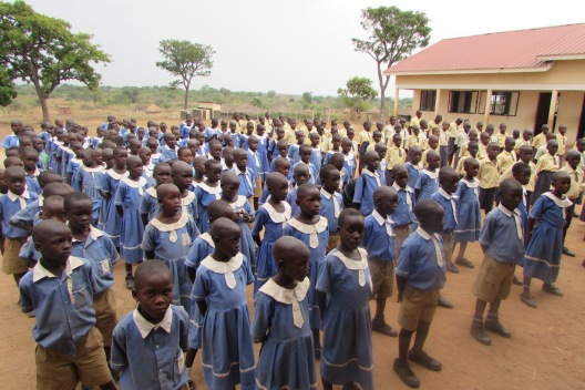 Pupils at Assembly