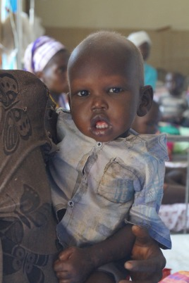 Baby Esther. The team was also able to help provide food and medical care for her by donations.